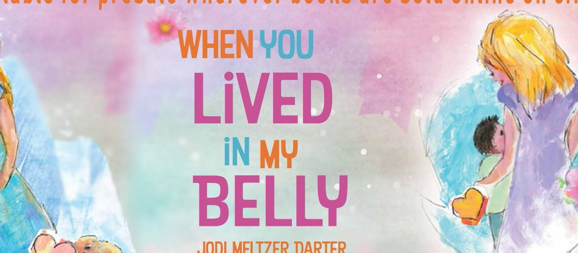 When You Lived In My Belly- Maternity Book