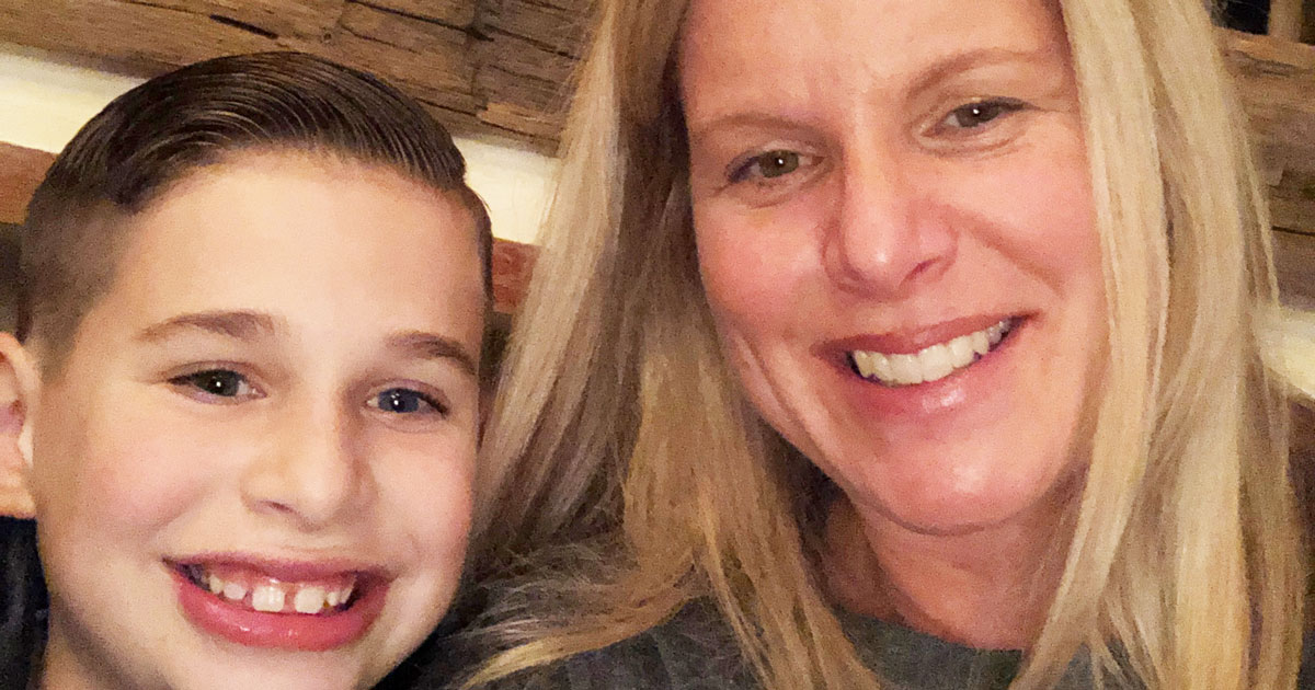 Smiling-Mother-and-Son